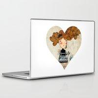 alice wonderland Laptop & iPad Skins featuring Alice in Wonderland by Kristina Sabaite