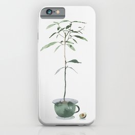 Avocado Tree iPhone Case