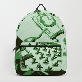 GREEN BATTALLION ON THE MARCH Backpack
