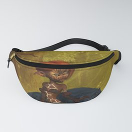 Cute little fairy with wolf Fanny Pack