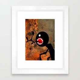 The Nightmare Framed Art Print