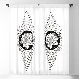 Finding beauty in the adversity  Blackout Curtain