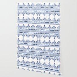Bohem Blue Wallpaper