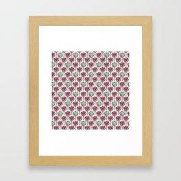 King Protea (Pink On Pink) Framed Art Print
