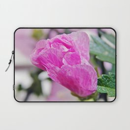 Pink Musk Mallow Rolled-up Laptop Sleeve