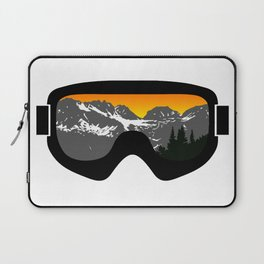 Sunset Goggles 2 | Goggle Designs | DopeyArt Laptop Sleeve