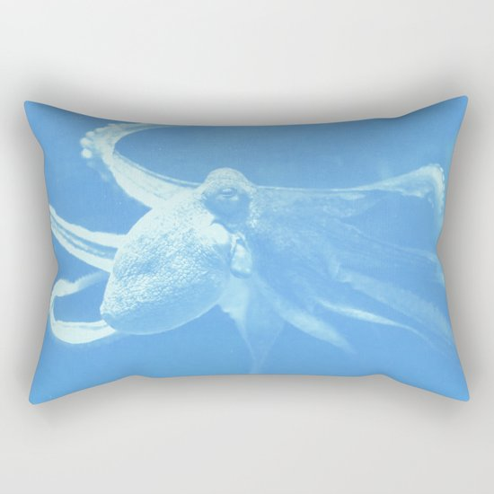 Octopus Dance Rectangular Pillow