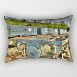 Conflat Wagon Rectangular Pillow