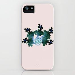 Marine halo iPhone Case