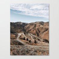 denver Canvas Prints featuring Denver by Joe Greer