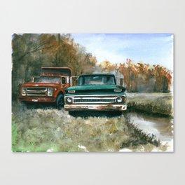 Westchester Work Trucks #2 Canvas Print