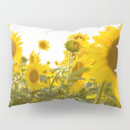 Sunflower Field Pillow Sham