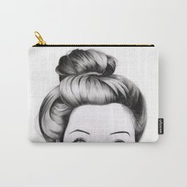 Messy Bun Carry-All Pouch