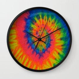 Tie Dye 016 Wall Clock