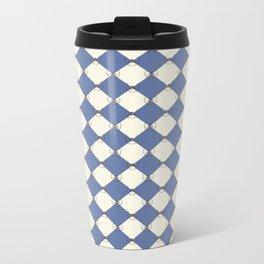 1982 est. Blueberry Pattern Metal Travel Mug