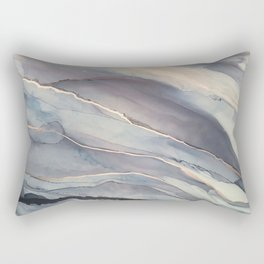 Fluidity VII Rectangular Pillow