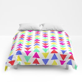 summer triangles Comforters