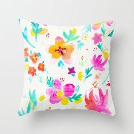 A Little Tropical Throw Pillow