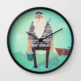 My Captain Wall Clock