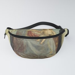 """Fra Angelico (Guido di Pietro) """"The Virgin and Child with St. Dominic and Thomas Aquinas"""" Fanny Pack"""