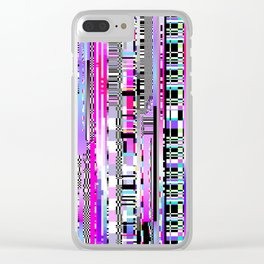 Glitch Ver.3 Clear iPhone Case