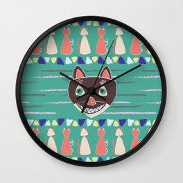 Madcat Wall Clock