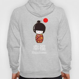 Geisha Girl Happiness Kawaii Hoody