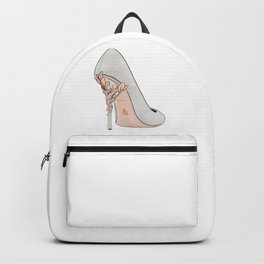 Grey Shoe Backpack