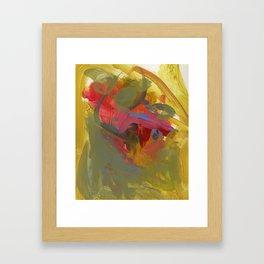 FB background Framed Art Print
