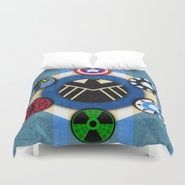 Google+ Circle of Trust  Duvet Cover