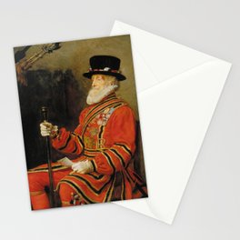 John Everett Millais - The Yeoman of the Guard Stationery Cards