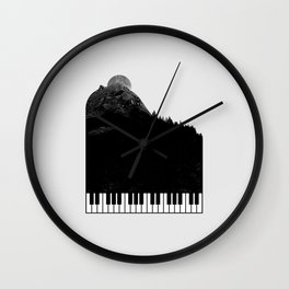 Sound of Nature Wall Clock