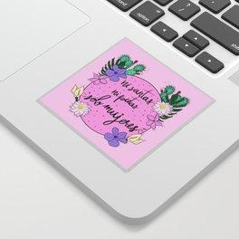 Sólo Mujeres Sticker