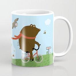 The Bear goes to the City Coffee Mug