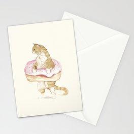 Donut Cat Stationery Cards