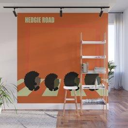 Hedgie road Wall Mural