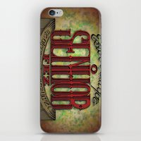 lettering iPhone & iPod Skins featuring Lettering by MarcosDevelop
