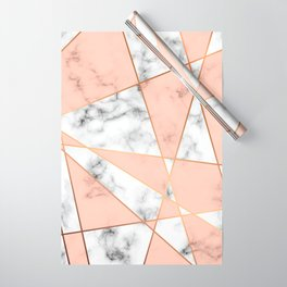 Marble Geometry 050 Wrapping Paper