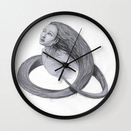 """Un"" - Cogita series character Wall Clock"