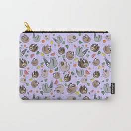 Pretty Sloth Pattern Carry-All Pouch