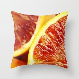 Orange 2 Throw Pillow