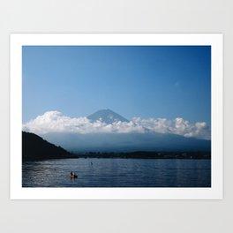 Good Morning Fujisan Art Print