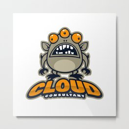 Best Cloud Consultant Metal Print