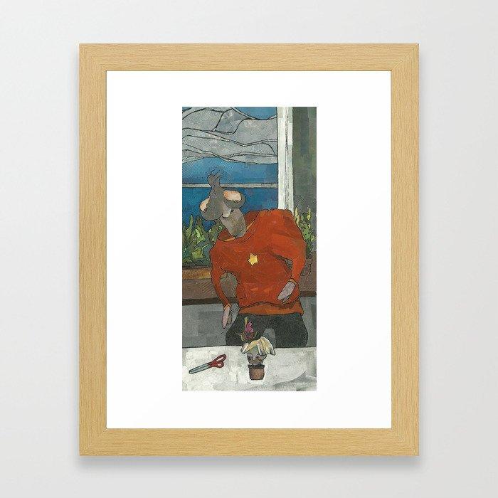 Henchman (Haircut) Framed Art Print