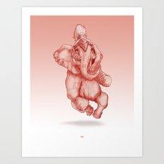 Elephantrance  Art Print