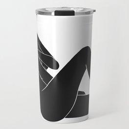 minimal nude 3 Travel Mug