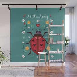 Little Lady Wall Mural