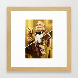 Colonel Mustard Framed Art Print