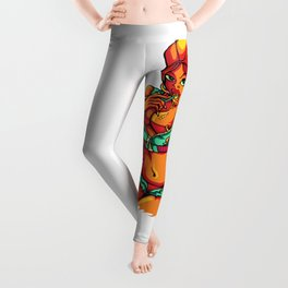 Sexy GIRL WITH Lolipop Leggings