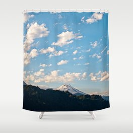 Mountain in the Clouds Shower Curtain